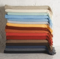 Solid Cashmere Throw