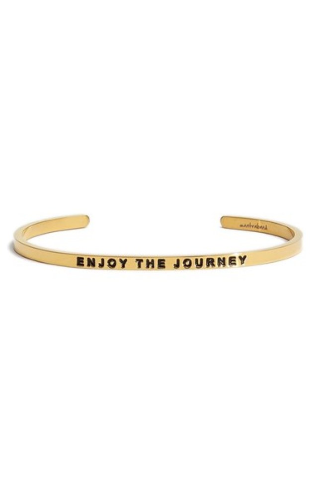 Enjoy the Journey Cuff
