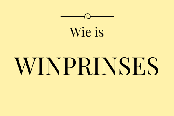 Wie is de winprinses?