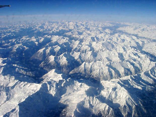 Einer meiner schönsten Alpenüberflüge.