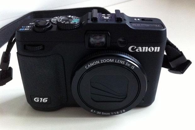 Meine neue Powershot G16