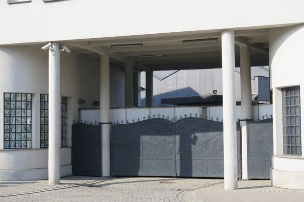 Eingang zur ehemaligen Schindler-Fabrik