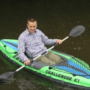 Paddeln mit dem Kanu macht richtig Spaß