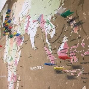 Blick über Asien nach Europa