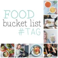 De Food Bucket List TAG