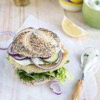 Festivalburger: Krokante visburger met wasabisaus (+win tickets voor de Parade!)