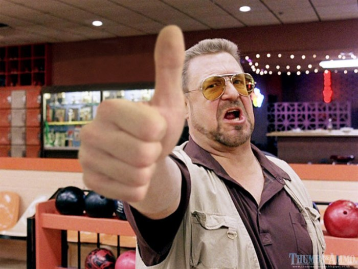 big lebowski rule of thumb