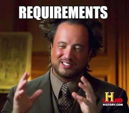 requirements meme