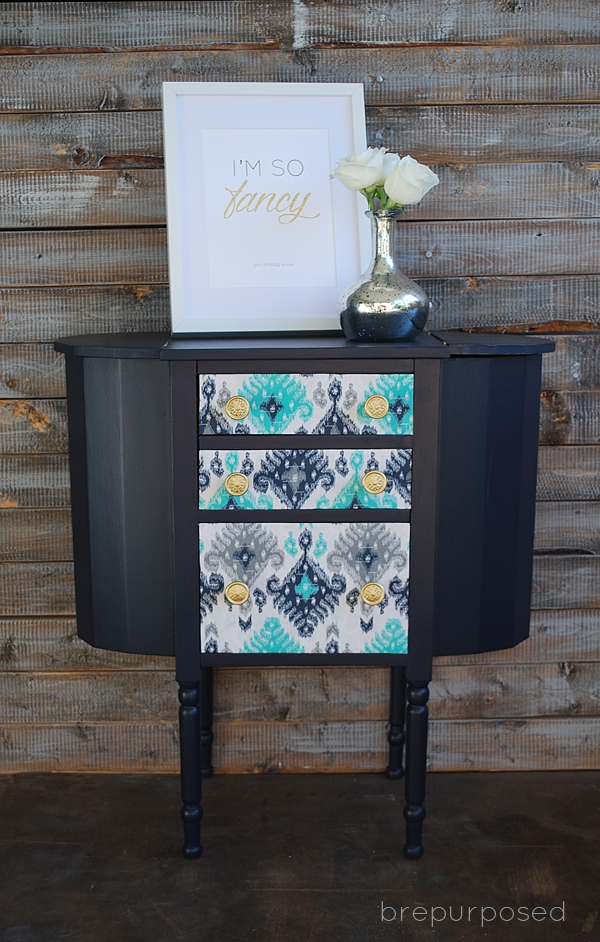 Martha Washington Sewing Cabinet Makeover