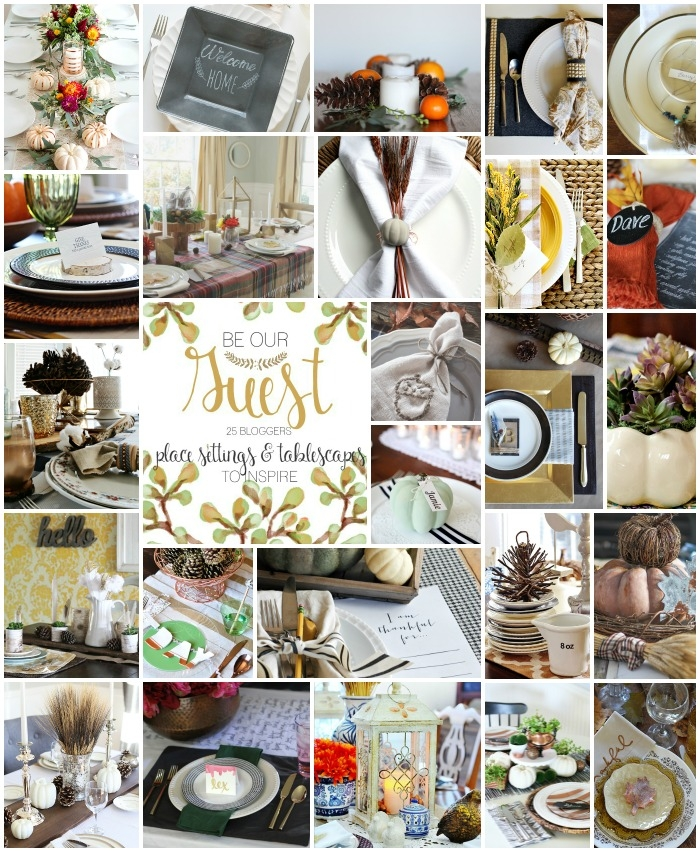 25 Thanksgiving Tablescapes