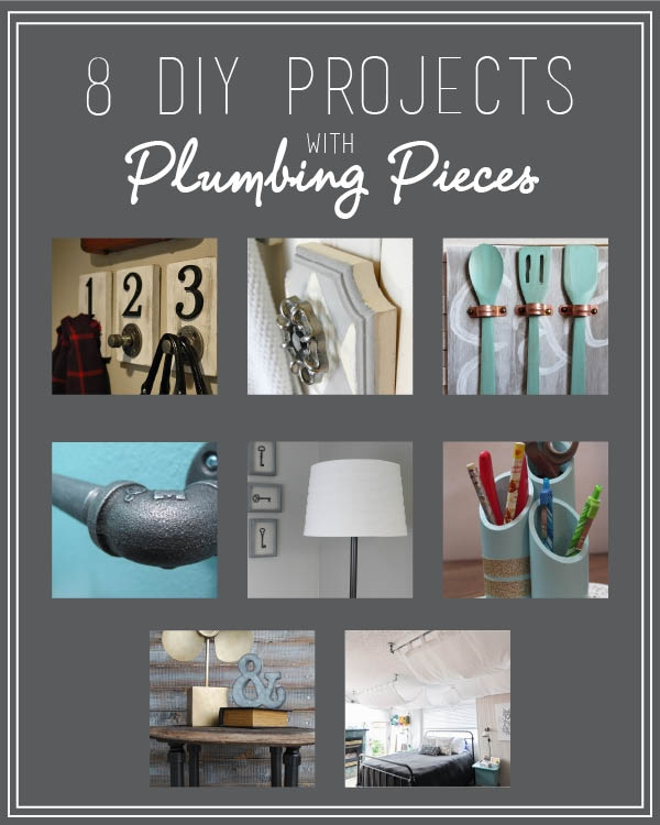 8 DIY Projects with Plumbing Pieces