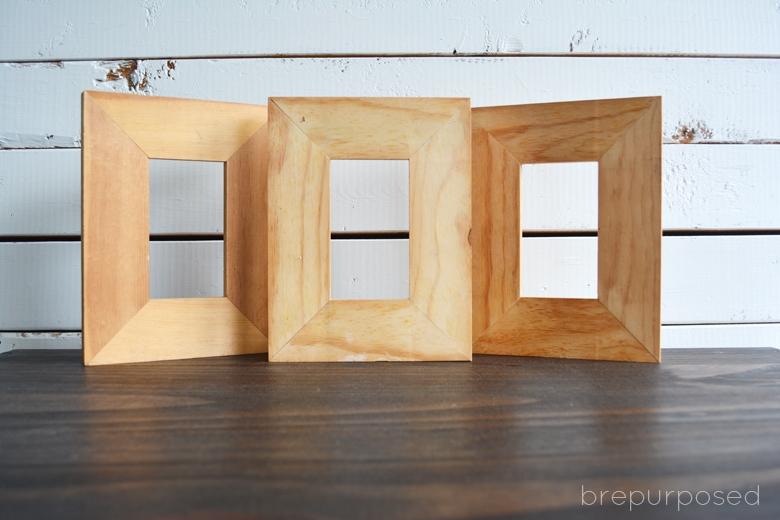 DIY Easy Painted Frames