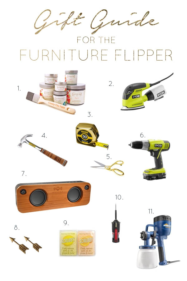 Gift Guide for the Furniture Flipper