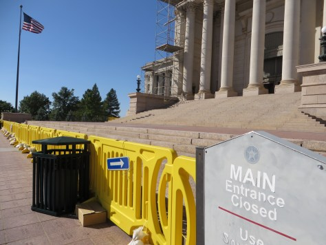 Oklahoma capitol closed