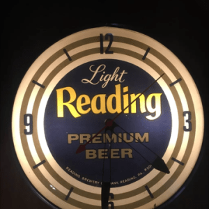 PAM Clock Co Inc Breweriana Aficionado
