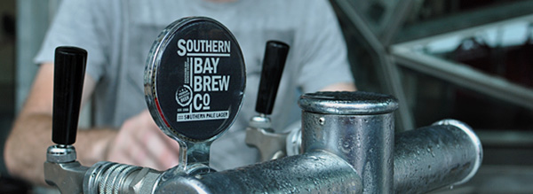 Southern Bay brewery taps