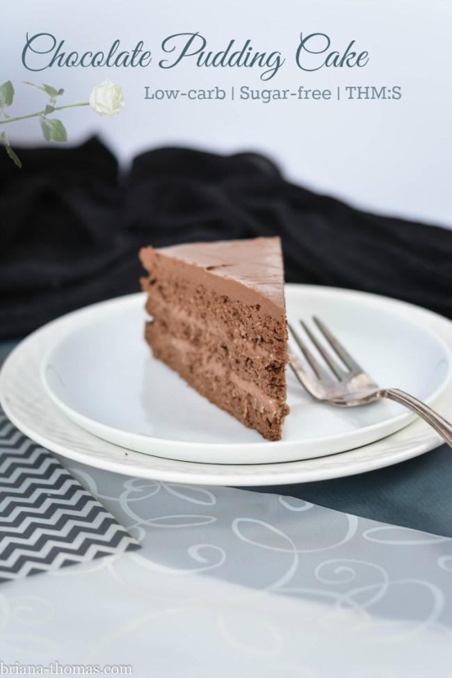 Chocolate Pudding Cake - Briana Thomas