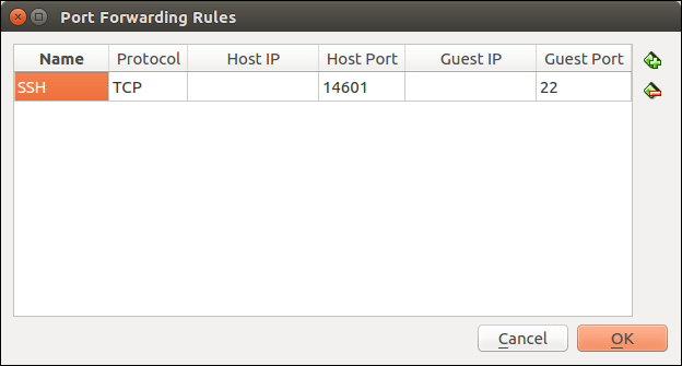 Router-1 reachable using port 14601