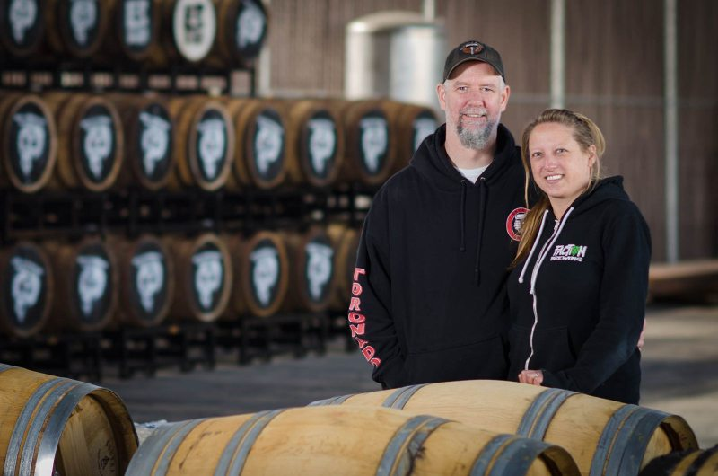 Roger and Claudia – Faction Brewing
