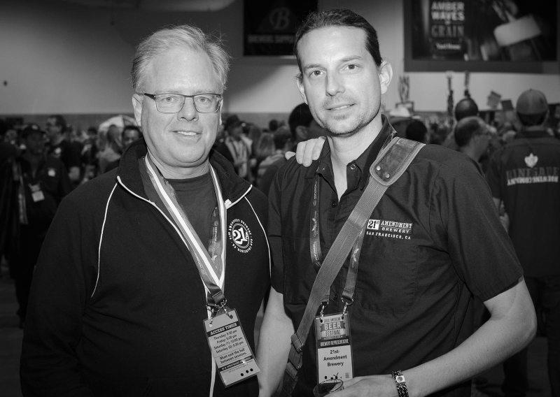Shaun O'Sullivan & Zambo – 21st Amendment Brewery