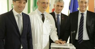Ecografo portatile Breast Unit senologia San Gerardo Monza