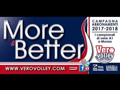 Vero Volley campagna abbonamenti 2017-2018