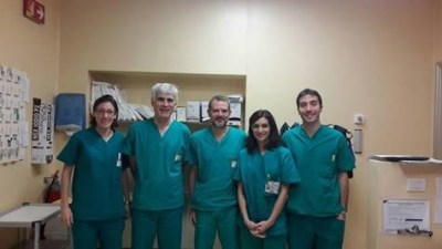 L'Equipe della Struttura Semplice di Elettrofisiologia Interventistica e Cardiostimolazione dell'ospedale San Gerardo di Monza