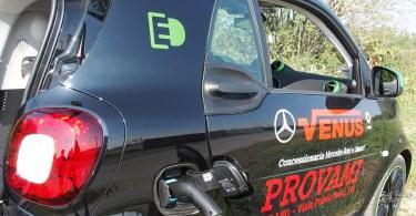 La ricarica verde della Smart ED