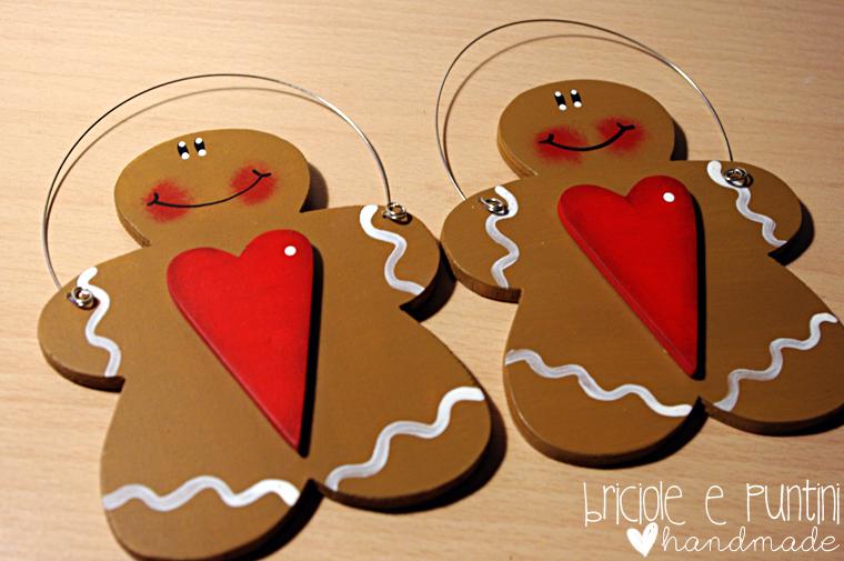 Gingerbread in legno tutorial decorazioni natalizie fai - Decorazioni natalizie in legno ...