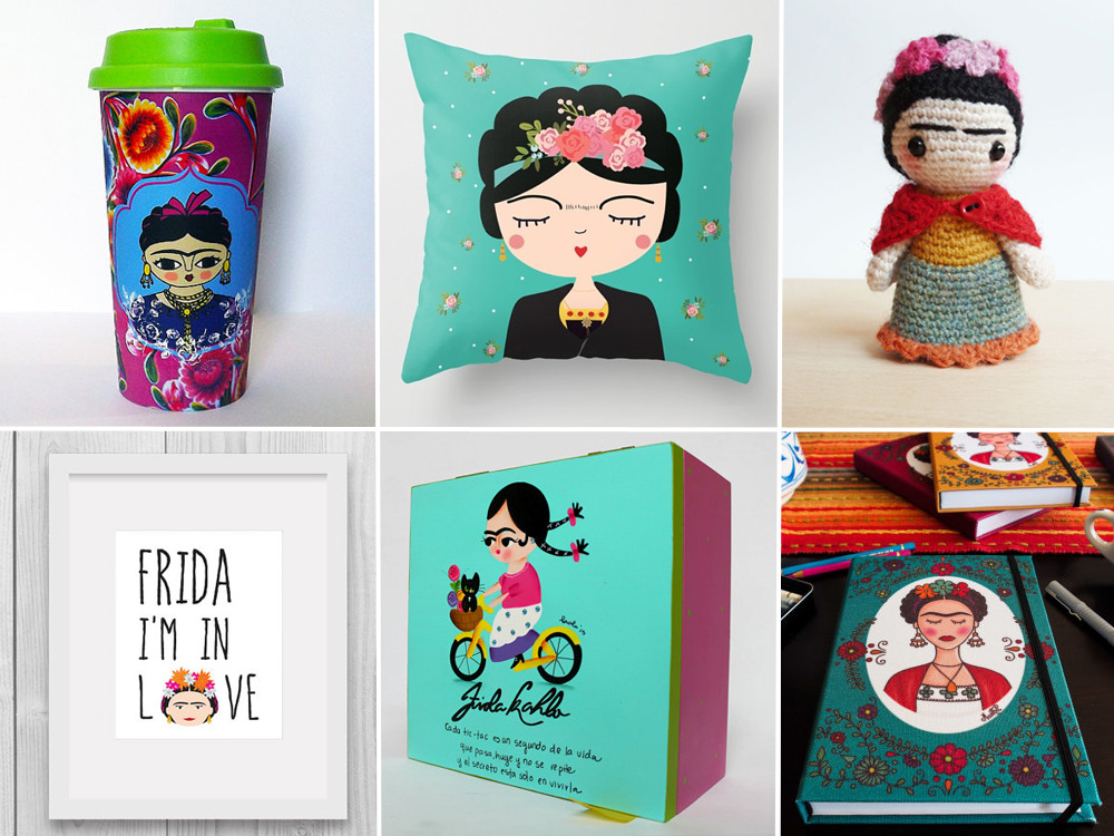 frida kahlo mood gli oggetti handmade pi 249 belli su etsy frida kahlo art print wall art home decor office decor