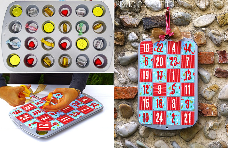natale idee calendario avvento : Calendario dell?Avvento con la teglia per i muffin e altre idee di ...
