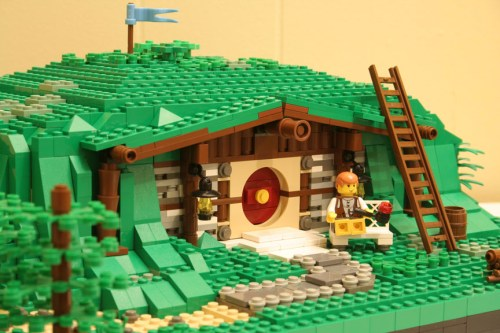 LEGO Lord of the Rings Hobbit Hole