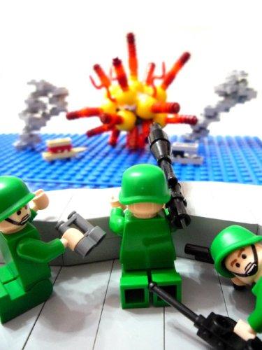 LEGO explosion