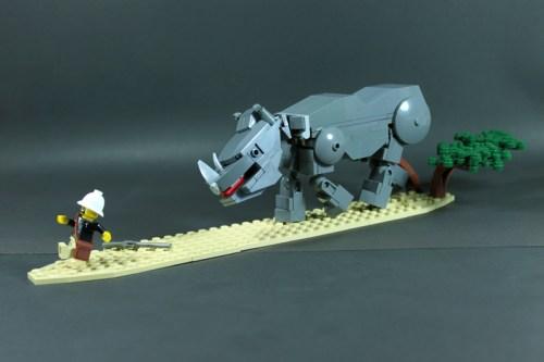 LEGO rhinoceros