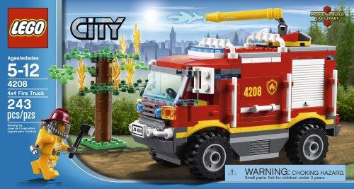 LEGO City 2012 4208 4x4 Fire Truck