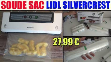 soude sac lidl silvercrest sfs 110 appareil de mise sous vide vacuum sealer folienschweissgerät