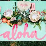 Aloha Luau Bridal Shower