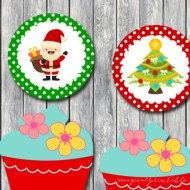 FREE Christmas Toppers, Labels, Tags