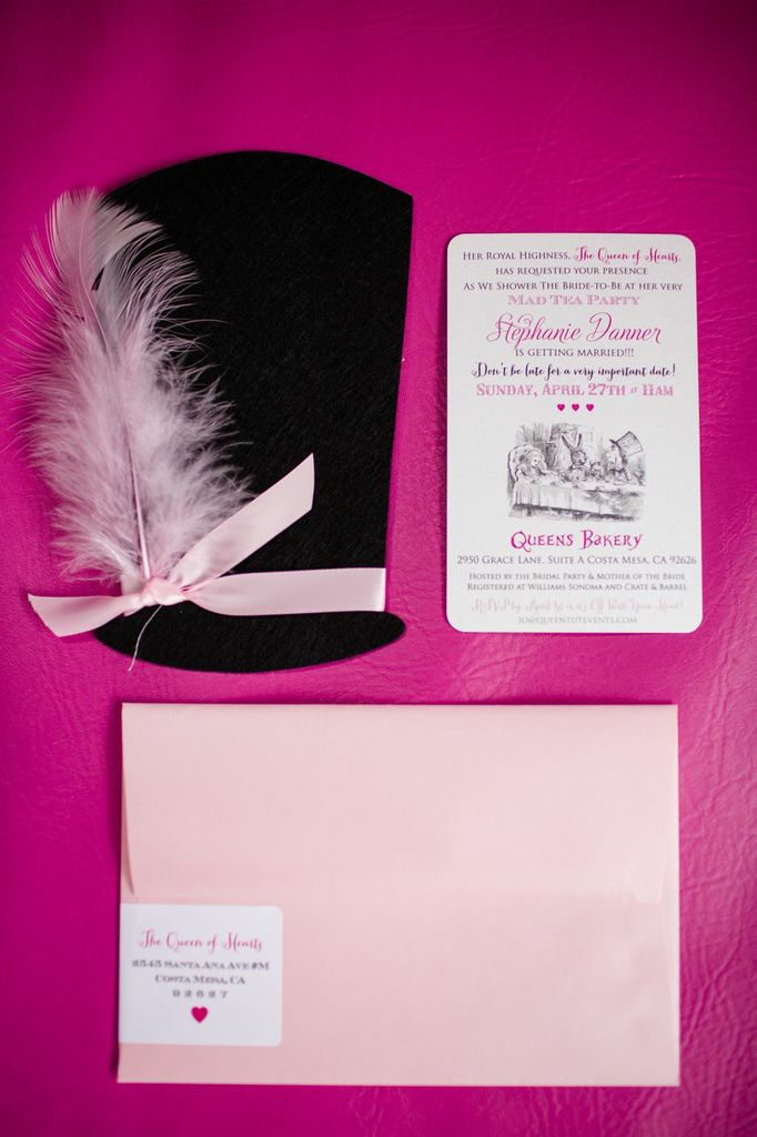 Mad Hatter Bridal Tea Party - Bridal Shower Ideas - Themes