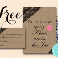 Free How Many Kisses