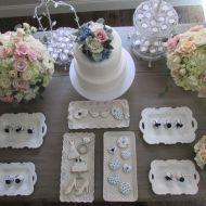 Elegant-Floral-Outdoor-Bridal-Shower-Dessert-Table