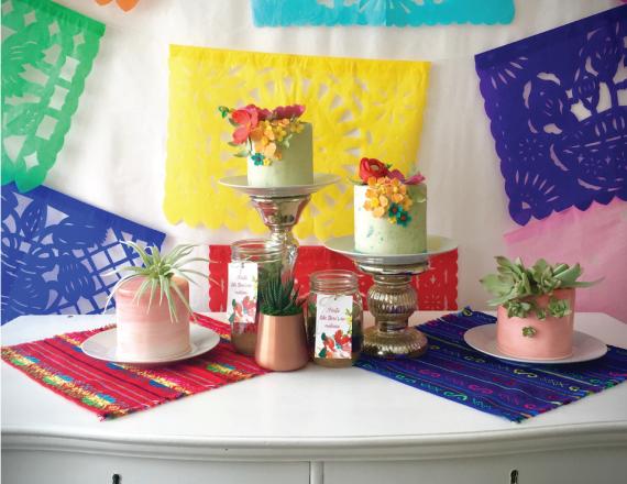 Colorful-Fiesta-Ladies-Night-Cakes