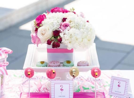 Tropical-Bridal-Shower-Flowers