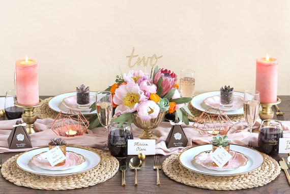 Succulent Bridal Shower Ideas Desert Cactus