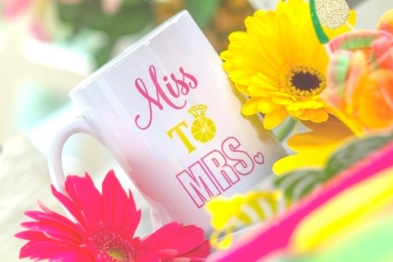 Pink-Tropical-Bridal-Shower-Personalized-Mugs