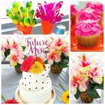Pink Tropical Bridal Shower