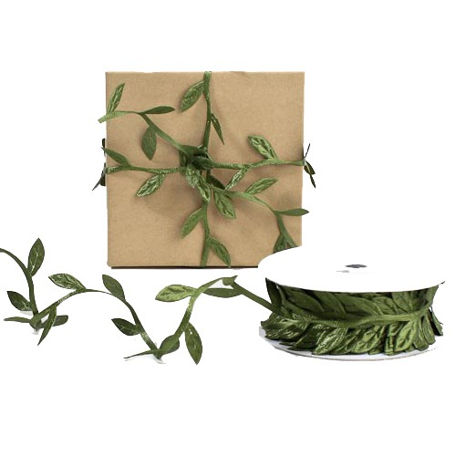 Decorative Leaf Ribbon wedding countryside wedding decoration