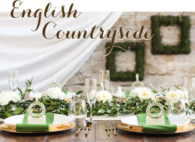 English Countryside wedding ideas