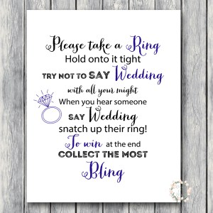 TG07-dont-say-wedding-8x10-navy-blue-bridal-shower-wedding-shower-game