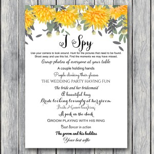 TH18-5x7-wedding-scavenger-yellow-wedding-game-dandelion